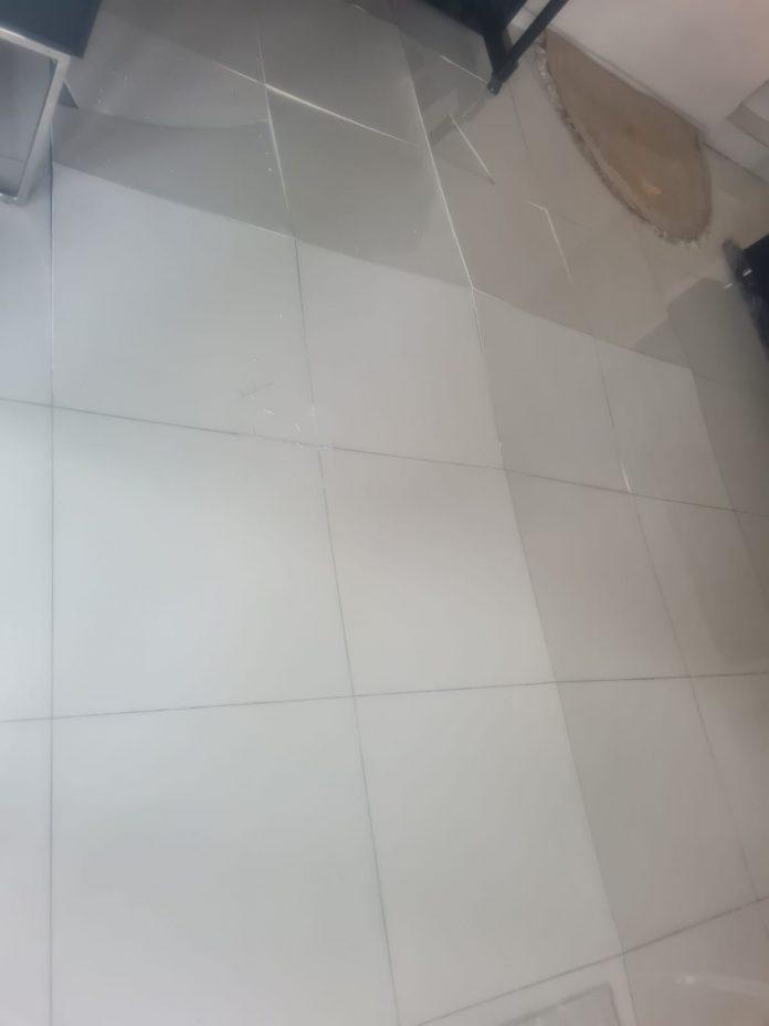 Popping tiles