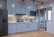 HBO BTO shaker kitchen cabinet